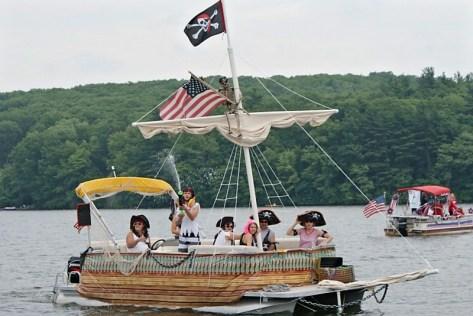 Manchaug Pond Foundation Boat Decorating Contest