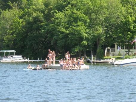 Boat Decorating Contest spectators