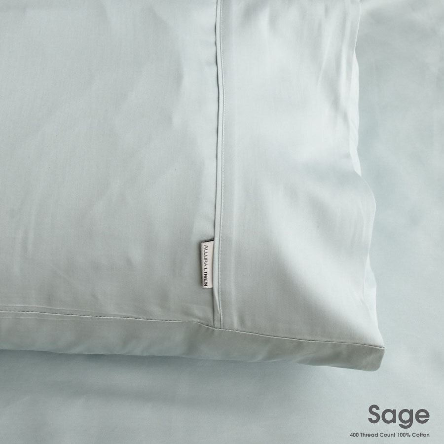 king size pillow case 400 thread count