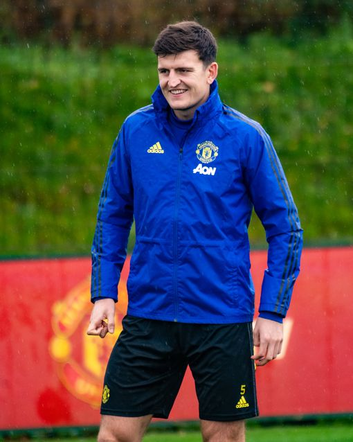 Harry Maguire of Manchester United.