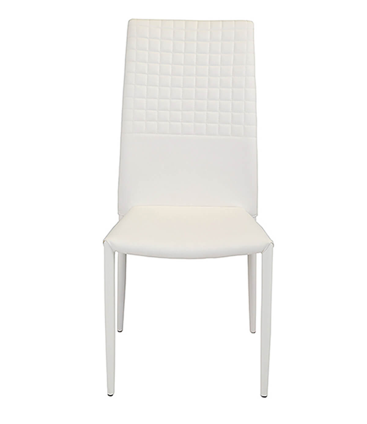 white faux leather chair black and blue gaming cuba modern dining manchester