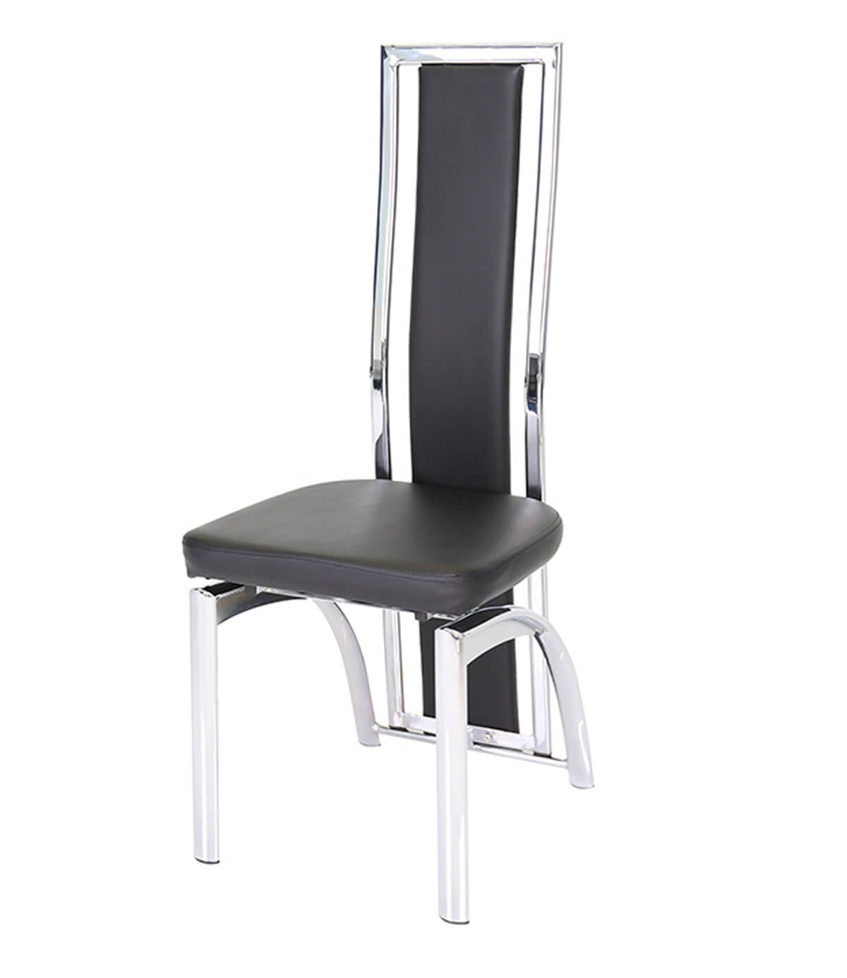 chrome dining chairs uk two seat table and mayfair black leather chair manchester furniture