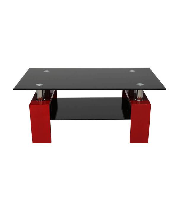 Red High Gloss Coffee Table