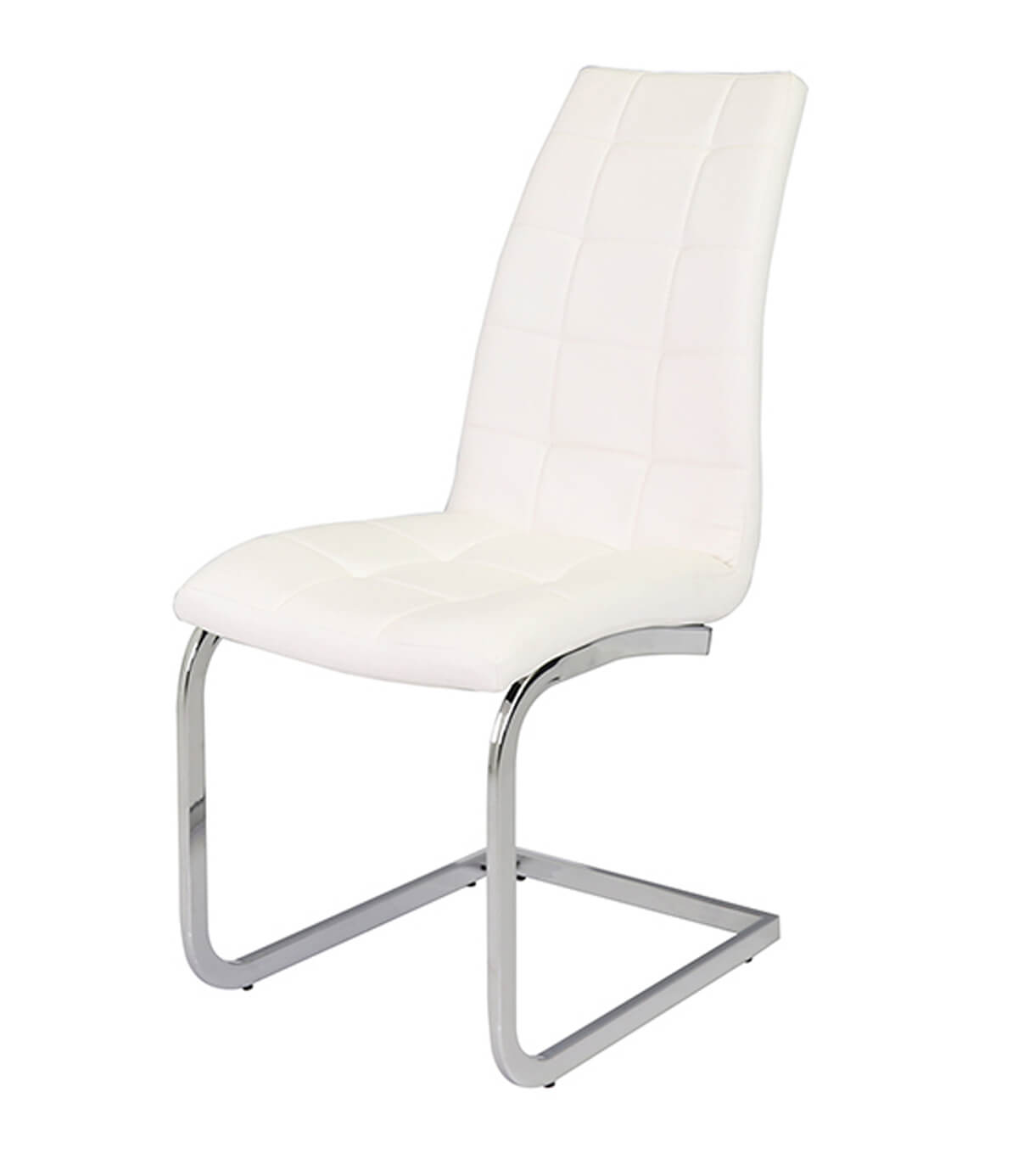 white faux leather chair vintage wedding sashes new york dining manchester