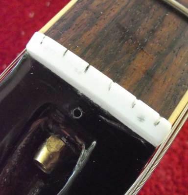 Les Paul Standard original Corian nut