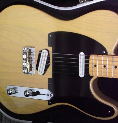 Butterscotch Telecaster with Joe Barden pickups