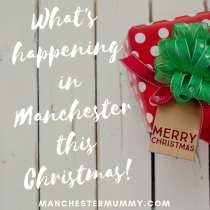 what's happening in Manchester this Christmas