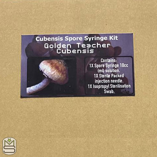 Golden Teacher Cubensis Syringe Kit