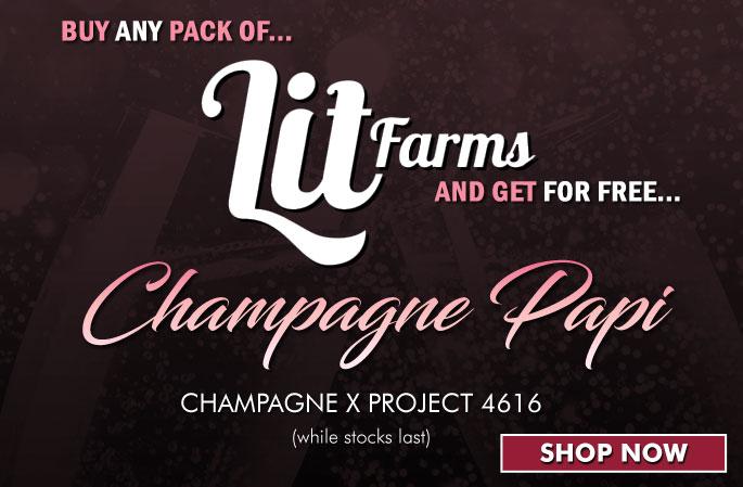 Slider - Lit Farms - Champagne Papi