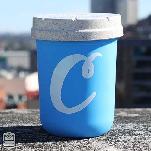 Re:stash Jar - 8oz Cookies Blue-