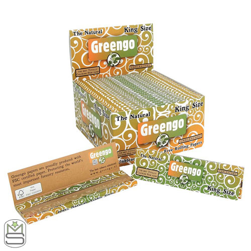 Greengo - King Size Regular Rolling Papers