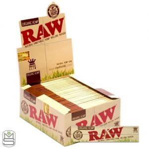 RAW King Size Slim Organic Hemp Rolling Papers