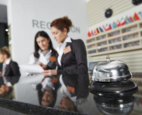 receptionist recruitment manchester