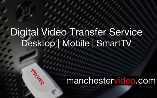 Shows USB MP4 Digital Video Transfer Service