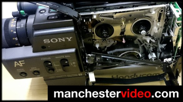 Tape stuck in camcorder? - Manchester Video Limited