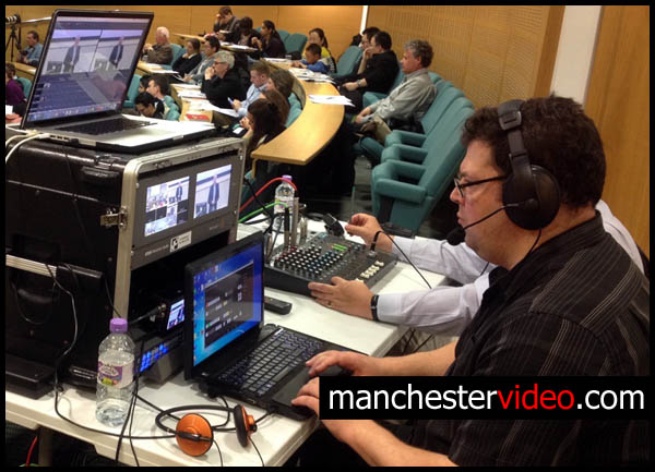 vision mixer operator manchester