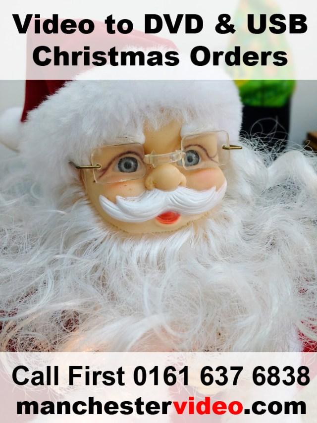Call 0800 228 9422  for video xmas transfers