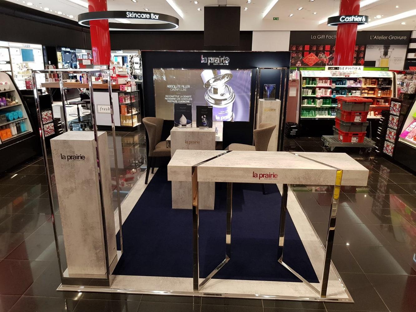 Boutique cosmétique La Prairie