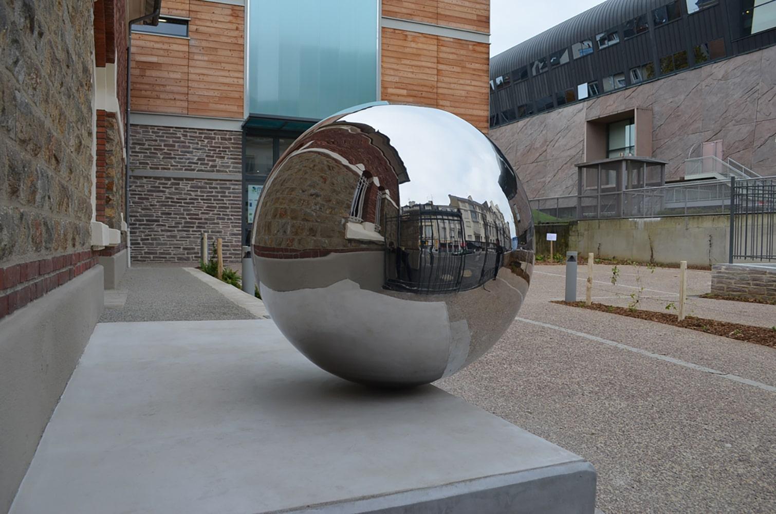 Boule argenté