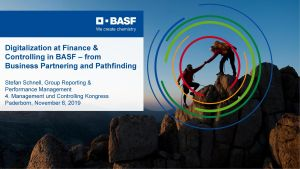 01 Stefan Schnell Digitalization at Finance Controlling in BASF – from Business Partnering and Pathfinding scaled