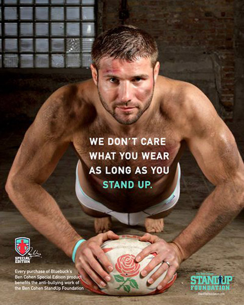Ben Cohen Stand Up Foundation Bluebuck ad