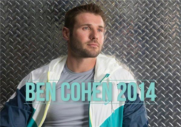 Ben Cohen 2014 Calendar