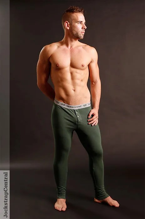 jsc nasty pig long johns green