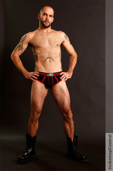jsc mr s leather jockstraps red