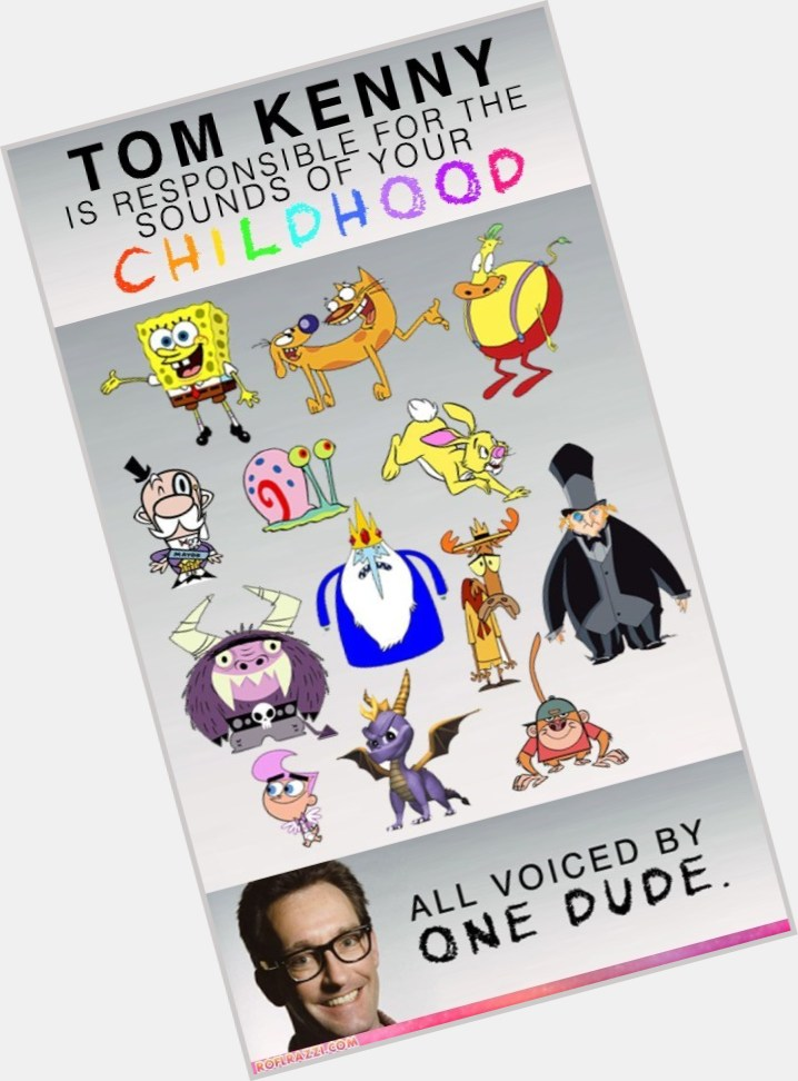 Tom Kenny  Official Site for Man Crush Monday MCM