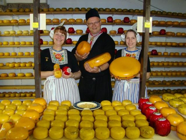European Escorted Motorhome Tour Springtime in Holland: Cheese Factory