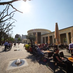 "Motorhome Tour ""Germany's Romantic Road"", Aachen Elisenbrunnen"