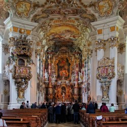"Escorted Motorhome Tour ""Germany's Romantic Road"", Wieskirche Steingaden"