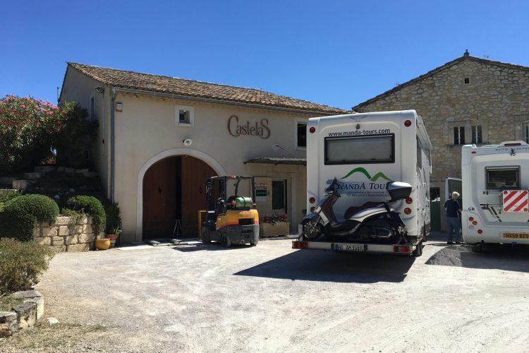 Olive mill and Château des Baux-de-Provence