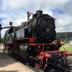 Steam train Sauschwänzlebahn
