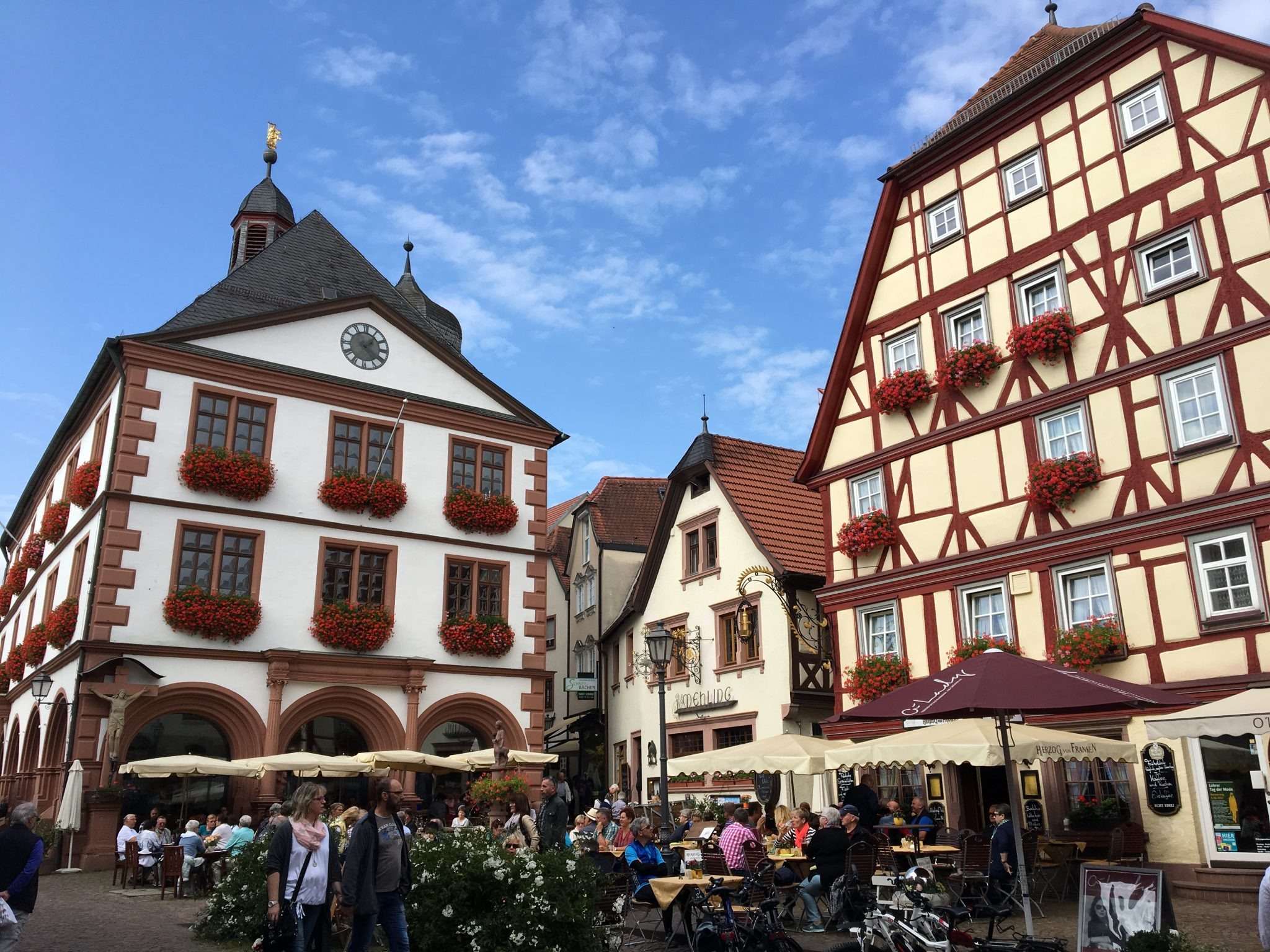 Start of tour germany 39 s romantic road lohr am main home for Heimbach lohr am main