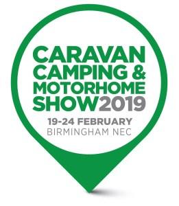 Logo Caravan Camping & Motorhome Show February 2019