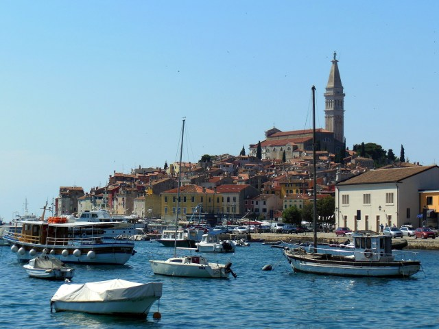 Town and port of Krk
