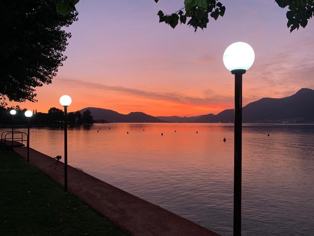 Sunset Lake Iseo