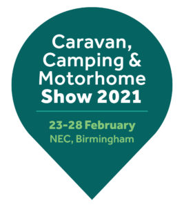 Logo Caravan Camping Motorhome Show February 2021