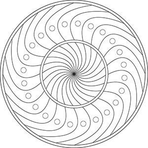 Malvorlage Mandala Schwer Coloring and Malvorlagan