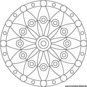 Mandala Vorlagen für Senioren