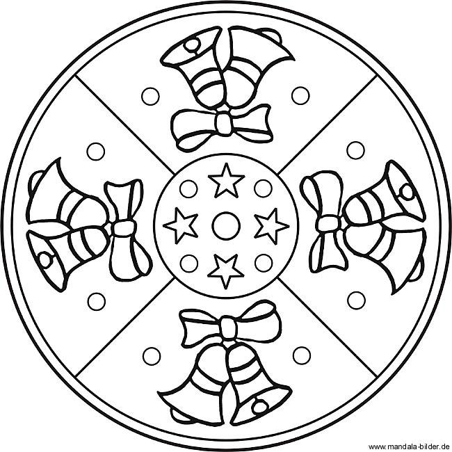 Weihnachten Ausmalbilder Mandala - bilder19