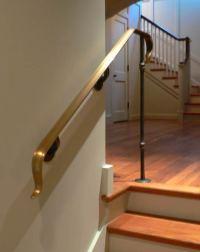 Blacksmith : Custom Designed Stair Railing : Hand Forged ...