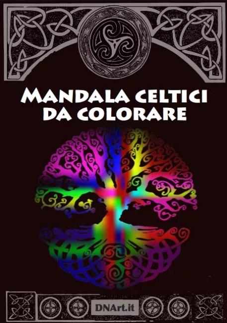 mandala rune e simboli celtici da colorare copertina ebook