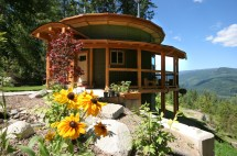 Mandala Round Homes Houses