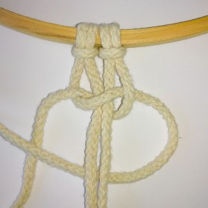 Macrame Spiral Knit