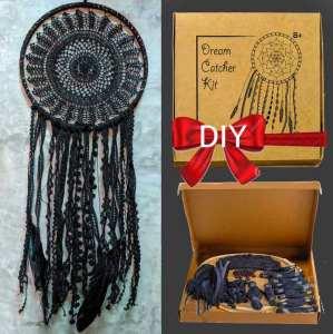 Black Dream Catcher Kit