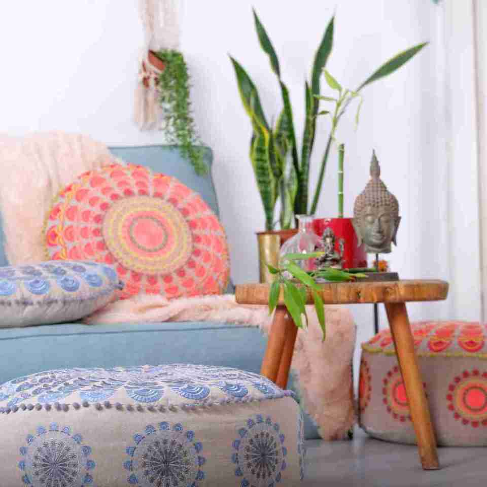Luxury Bohemian Floor Cushion 1