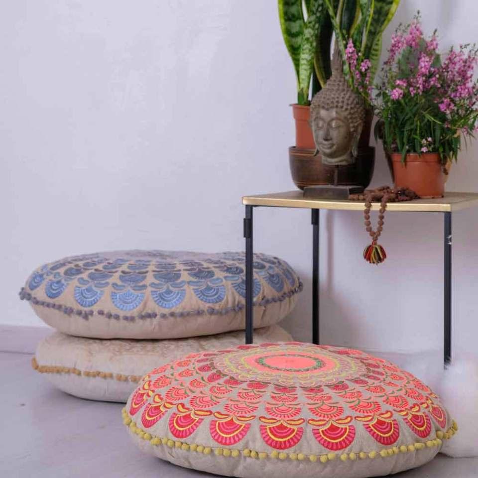 Mandala Floor Cushion Combo 4
