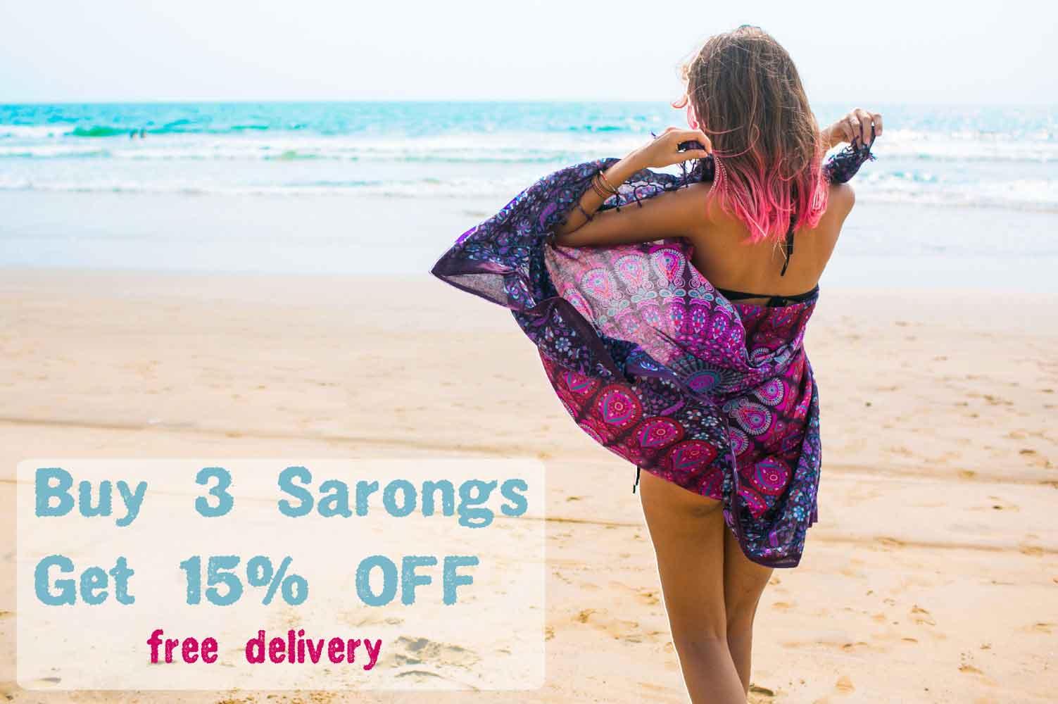 Beach Sarong Sale
